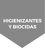 estas en higienizantes y biocidas